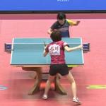 石川に勝利して涙を流した平野美宇さん(16)の輝きに圧倒されました 卓球女子・ワールドカップ決勝戦
