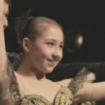 ヨーロッパバレエグランプリ 井関エレナさん(15)が男女2人で演技するパドドゥのジュニア部門で優勝