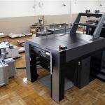北海道札幌市の印刷会社「アイワード」で学習し経験を積むことで進化していく人工知能AIを搭載したこの印刷機の導入