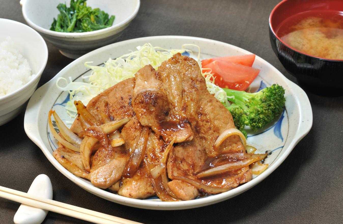 豚 の 生姜 焼き 英語